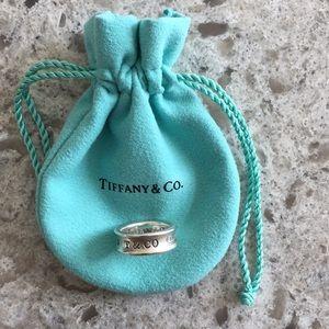 Tiffany 1837 Silver Ring